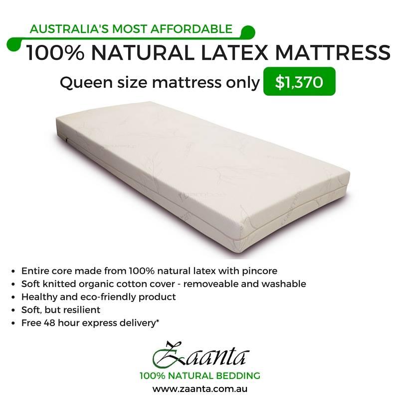 Affordable organic latex mattress